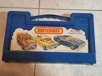 Vintage 1976 Matchbox 18 Car Carry Case