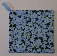 Pot Holder - Royal Bluebell Pattern - Handmade in Australia