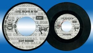 Philippines CLIFF RICHARD I Still Believe In You 45 rpm PROMO Record