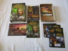 World Of WarCraft The Burning Crusade Expansion Set Blizzard PC Game WOW