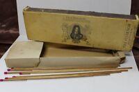 Vintage Stok Holmia Tre Stjarnor Brassticker Long Match Box with matches