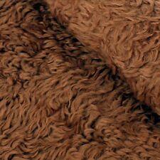 Faux Fake Curly Fur Fabric Teddy Bear & Animal Toy 15mm Pile