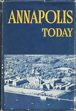U.S. NAVY ANNAPOLIS TODAY HCDJ 1961  NAVAL INSTITUTE KENDALL BANNING 5TH EDITION