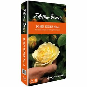 J Arthur Bower's No3 John Innes No 3  Compost Soil Potting Mature Plants 25L