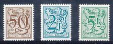 [151884] SUP  **/Mnh    - N° 1958/60, 50c+2,75F+5F, type chiffre sur lion et ban