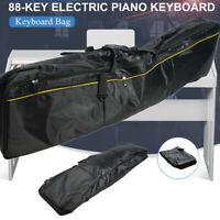 88 Key Digital Electric Piano Keyboard Carry Bag Big Storage Case With Handle