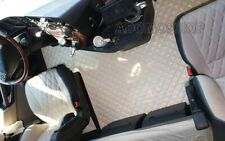 LKW Fußmatten für MERCEDES ACTROS MP4 Tunnelabdeckung Lkw Kunstleder in  Beige