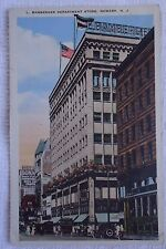 L. BAMBERGER DEPARTMENT STORE NEWARK  NJ NEW JERSEY VINTAGE 1927 POSTCARD
