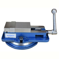 "4"" INCH HIGH PRECISION MILLING VISE W/SWIVEL BASE KNEE MILL OR BENCH MILL"