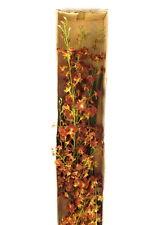 Künstliche Seidenblumen 1 Karton mit 12 Rostbraunen Orchideen 100 cm Dekoration