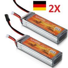 2X 11.1V 5500mAh 3S 35C Lipo RC Batterie Akku TRX Traxxas für Flugzeug Auto Boot