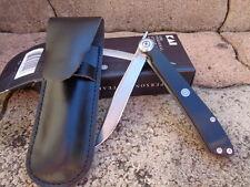 Couteau Piémontais Kershaw/Kai Lame Acier 420J2 Manche Zytel Etui Cuir KS5700