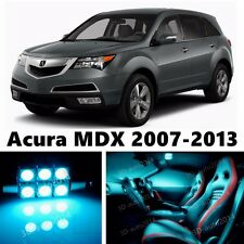 21pcs ICE Blue LED Light Interior Package Kit for Acura MDX 2007-2013