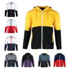 Beautiful Giant Men's Casual Hood Full Zip Lightweight Windbreaker Active Jacket