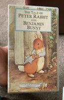 VHS Video - THE TALE OF PETER RABBIT AND BENJAMIN BUNNY - Beatrix Potter VGC