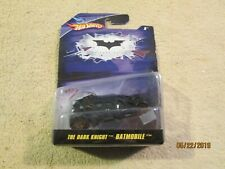 Hot Wheels Batman The Dark Knight BATMOBILE Collectible Die Cast Toys 1:50 NIP