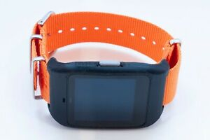 Sony SmartWatch 3 SWR-50 housing/adapter with orange NAT strap