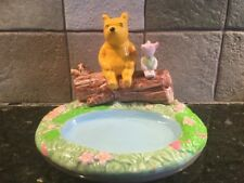 Winnie the Pooh & Piglet Damaged Ceramic Soap Dish