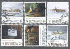 Ross Dependency-New Zealand-Historic Huts 2017 set f.u-Explorers-Antarctic