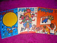 3 x Frösi - DDR Pioniermagazin 1976-1978 Konvolut