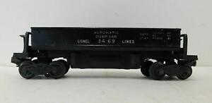 LIONEL 3469 DUMP CAR (BLACK)