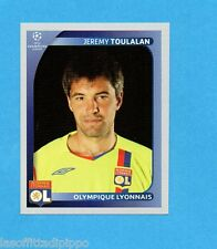 PANINI-CHAMPIONS 2008/2009-Fig.358- TOULALAN - OLYMPIQUE LIONE -NEW BLACK