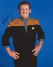 Colm Meany autograph - signed Star Trek DS9 photo - The Commitments - Con Air