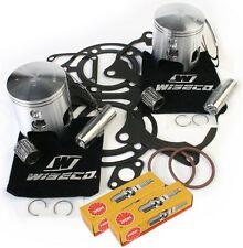 64.75mm Pistons Top End Gaskets Spark Plug Yamaha YFZ350 Banshee 1987-2006