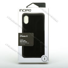 Incipio Feather Slim Hard Shell Case Snap Cover For iPhone X & iPhone XS - Black