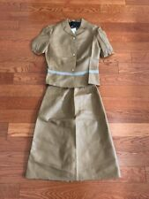 Prada Leather Skirt Suit Size 40 Top And 40 Bottoms