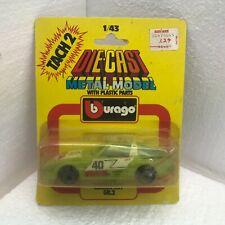 NIB Burago 1:43 Diecast Tach 2 Model Mazda RX7 GR.2