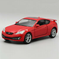 1:36 Hyundai Genesis Coupe Model Car Diecast Gift Toy Vehicle Pull Back Red Kids