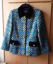Vintage 80s Escada by Margareta Ley blazer with velvet collar, size 10