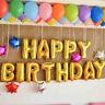 "40"" Silver Gold Letter Number Foil Balloon Wedding Celebration Party Decor"