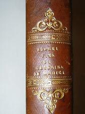 BIOGRAFIE ritratti incisioni - Alberi: CATERINA DE' MEDICI 1838 Firenze Batelli