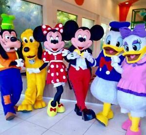 Costume de mascotte Disney Personnage de fête Anniversaire Halloween...