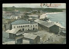 West Africa Gold Coast Ghana CAPE-COAST Seaside 1919 Paquebot PPC
