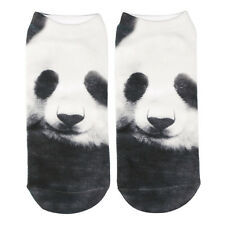 3d Unicorn Print Men Women Casual Low Cut Socks Cotton Animals Pattern Socks Panda