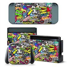 Sticker BOMB Nintendo Switch protettiva della pelle 4 PC Adesivo Set - #0293