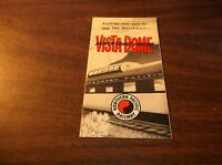 APRIL 1957  NORTHERN PACIFIC RAILWAY NORTH COAST LIMITED VISTA DOME BROCHURE