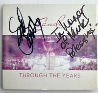 Signed SANDI PATTY Through The Years - Digipak CD (2015 Stylos Records) Auto