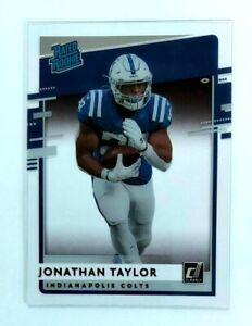 Jonathan Taylor Chronicles Clearly Rated Rookie RR-JT Indianapolis Colts RC NFL