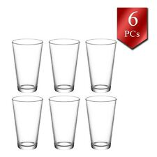 Water and Juice Glasses Set of 6, Durable Drinking Glasses Tumbler, 11 oz-325 cc