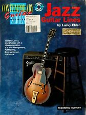 JAZZ GUITAR LINES - CONTEMPORARY GUITAR SERIES-  MUSIC TUITION BOOK + CD