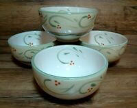 SET OF 4 - PFALTZGRAFF ITALIAN VINE - HAND PAINTED - DEEP SOUP / CEREAL BOWLS