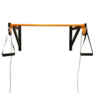 Heavy Duty Pull Up Bar With Cable Cross Over