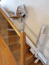 STANNAH 420 + AUTO HINGED RAIL INSTALLED 1YR GUARANTEE MOBILITY EQUIPMENT
