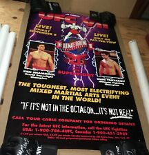 UFC 7 Poster SEG Era Rare Collectable - Pride Fc MMA Ken Shamrock Superfight WEC