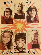 The Brady Bunch, Maureen McCormick, Christopher Knight, Double Vintage Pinup