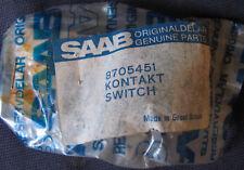 Classic Saab 900 Kontakt Switch 8705451 Genuine OEM Part